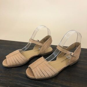 Lucky Brand Channing Leather Sandals 6
